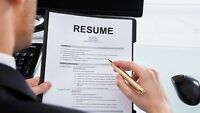 Resume Writing Services - $75+