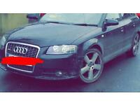 Audi a3 s3 full s line front end in black