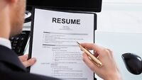 TORONTO RESUME WRITING SERVICE PACKAGES - PLEASE CALL