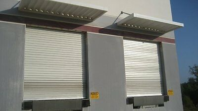 Durosteel Janus 10 X 10 1100 Series Commercial Wind Rated Roll-up Door Direct