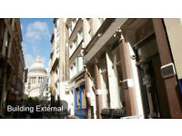 CANNON STREET Office Space to Let, EC4M - Flexible Terms   2 - 85 people