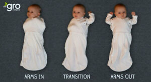 GroSnug Swaddles (arms in or out) - $15 each BRAND NEW