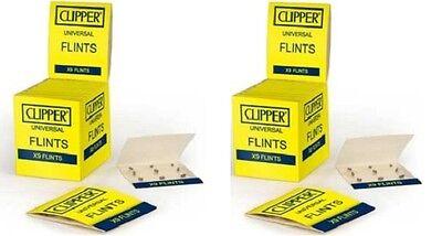 Clipper Classic-Feuersteine 2 x 9 Stück