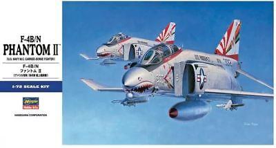 F-4 B/N PHANTOM II  (US NAVY & MARINES COLD WAR MARKINGS)#E36  1/72 HASEGAWA