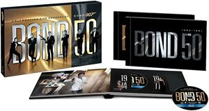 bond 50 23 bluray collection with skyfall