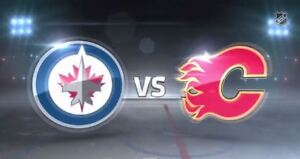 2 tickets Jets vs Flames Sept 25th