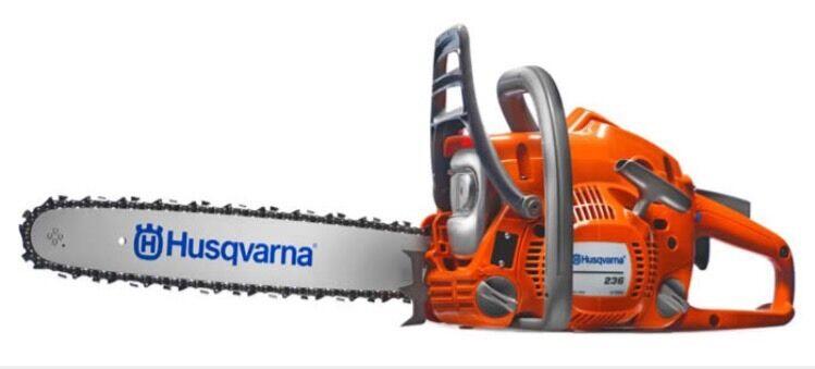 "Husqvarna 236 14"" Bar And Chain Chainsaw Husqvarna Agent UK 2 Year WARRANTY !!"