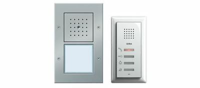 Gira 049543 Einfamilienhauspaket Audio - Farbe: Alu