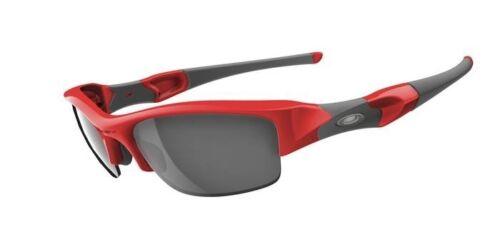 NEW Oakley - FLAK JACKET - (AF) Sunglasses, Infrared / Black Iridium, 03-906J