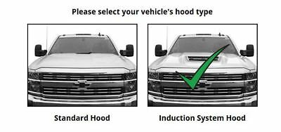 WeatherTech Low Profile Hood Protector for Chevy Silverado Induction System -
