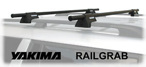 """Yakima rail grab system with 48"""" or 58"""" bars"""