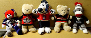 NHL Hockey NFL & CFL Football,M.L Baseball, Nascar etc stuffies