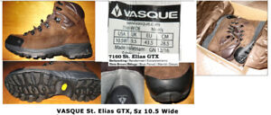 Vasque St. Elias GTX Men's Boots, Sz 10.5W