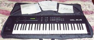 Kawai K4 Clavier synthétiseur multitimbral - vintage 1989