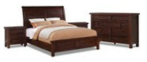 King Bedroom Set - Sonoma from the Brick
