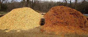 Landscape Chips | Bark Mulch - 100% Organic. CHISHOLM LUMBER