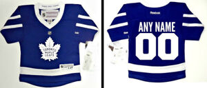 ANY NAME/NUMBER TORONTO MAPLE LEAFS 2-4T & INFANT  REEBOK JERSEY