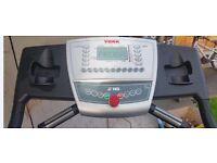 York z16 treadmill and gym