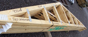 Roof Trusses for a 16ft x 20ft Garage