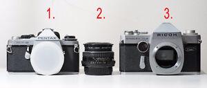 PENTAX Lenses, 35mm SLRs, TLR, APS
