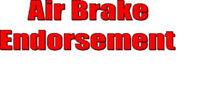 Air brake Course 'Z' Endorsement: