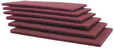 Standard Abrasives 827505 6x9 Maroon Hand Pad 60pc