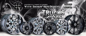 Hard Core Heavy Duty Cali OFF-ROAD rims from ONLY $349 each!!