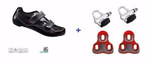 Shimano R065 Cycling shoes + Pedals + Cleats special DEAL Avail East Perth Perth City Area Preview