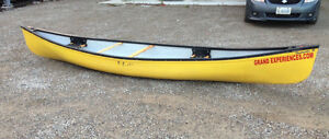 1 yr old 16 ft, Canoe with lower price London Ontario image 9
