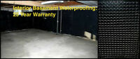LEAKY BASEMENT? WATERPROOFING - BEST PRICE!  905 517 1411