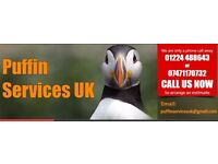 FOR SALE - PuffinServices UK - roofing and property maintenance building