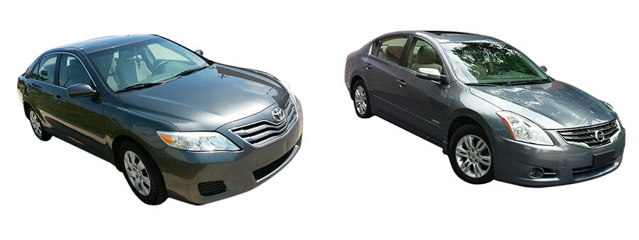 2010 toyota camry vs 2010 nissan altima ebay. Black Bedroom Furniture Sets. Home Design Ideas
