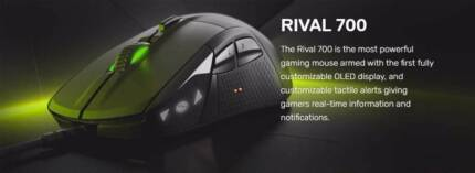 Brand NEW SteelSeries Rival 700 Optical Gaming Mouse - Black