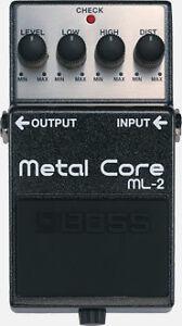 Boss ML-2 Extreme Metal Core Pedal