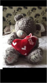 Massive me to you teddy with tags