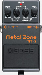 Boss Metal Zone MT 2