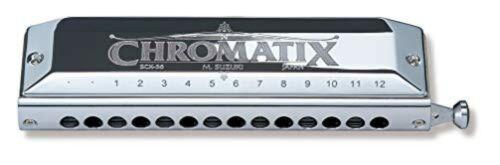Suzuki Chromatic Harmonica Standard Model SCX-56
