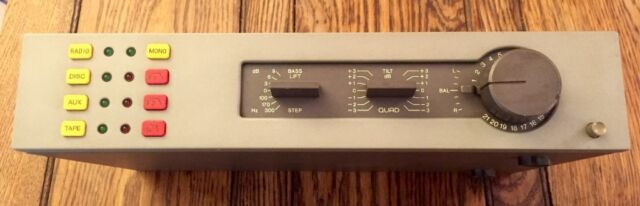Quad 34 Pre/Control Unit with Quad 303 Power Amplifier  Vintage Classic  Audiophile Amp Stereo | in Hackney, London | Gumtree