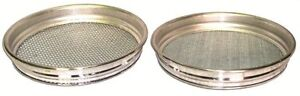 FREEPOST GOLD PANNING PROSPECTING SIEVE SET 1/4