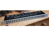 """Behringer Ultrapatch Pro PX2000, 4-Mode Multi-Functional 48-Point Studio Patchbay. 19"""" rack mount."""