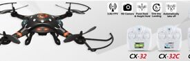 DRONE Cheerson CX-32W Black