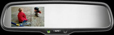 Gentex GENK335S Rearview Mirror Rear Backup Camera Display Monitor Compass