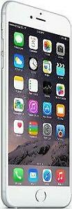 iPhone 6 Plus 64 GB Silver Unlocked -- 30-day warranty and lifetime blacklist guarantee