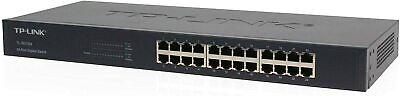 TP-Link 24-Port Gigabit Ethernet 10/100/1000 Mbps Rackmount Switch (TL-SG1024) *