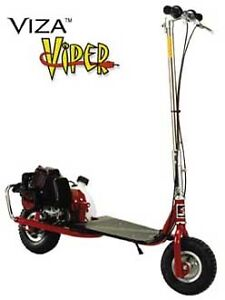 Wanted. Good condition Viza Viper or Venom stand up gas scooter.