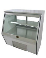"Refrigerated Counter Deli Display Case 36"" NEW"