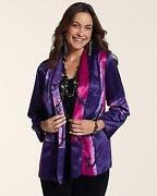 Chicos Purple Jacket 3