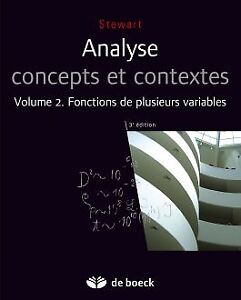 Analyse, concepts et contextes, 3e éd| Volume 2(. Stewart)