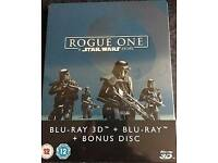 Rogue One: A Star Wars Story 3D+2D - Limited Edition Blu Ray Steelbook