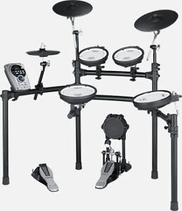 Roland V-Drums TD-15KS (with pedal, throne,and sticks)